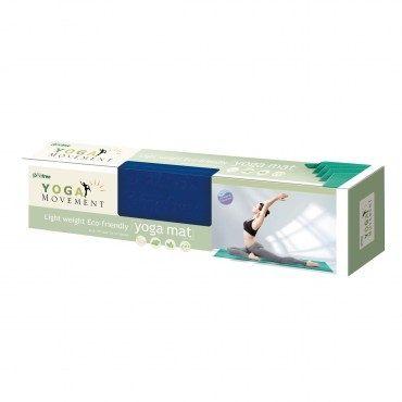 Comefree 羽量級TPE摺疊瑜珈墊(混款)