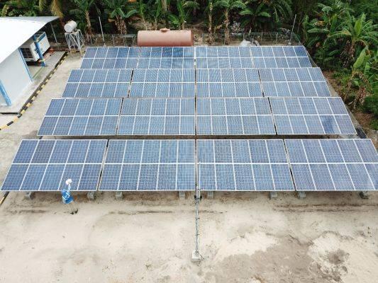 : Pembangkit listrik tenaga surya (PLTS) Hybrid pertama di Sumatera
