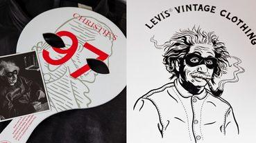起點道具 / 跟相對論同樣難 LEVI'S 復刻愛因斯坦 Menlo Cossack 皮外套