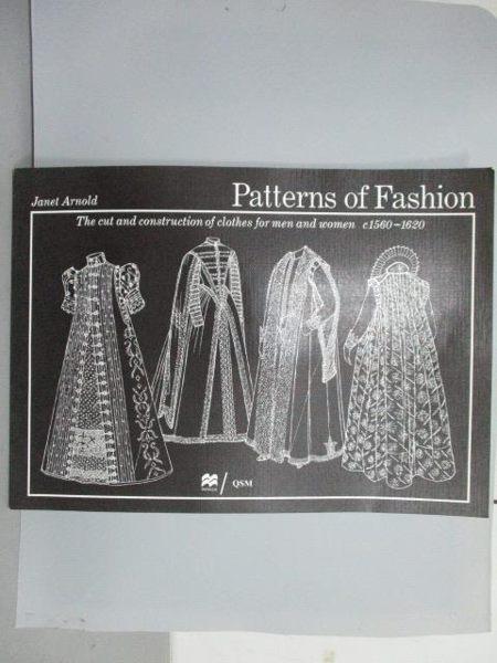 【書寶二手書T2/設計_RJA】Patterns of Fashion_1560-1620