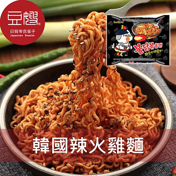 又辣又爽超過癮的辣火雞麵,排名第二的三養的火雞炒麵(불닭 볶음면),辣度4404。