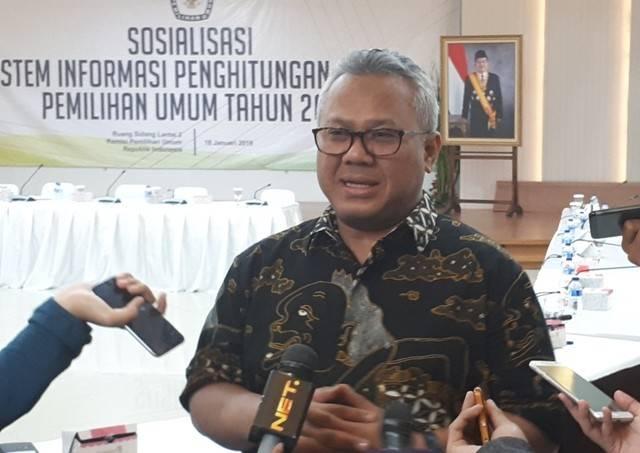 KPU chairman Arief Budiman (Photo:Medcom.id/Faisal Abdalla)