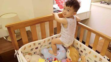 【育兒好物推薦】保護寶寶第一道防護HugsieBABY嬰兒床圍