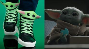 會不會太萌?星戰迷超心動的「尤達寶寶」球鞋「這裡」原價入手,爆 Q 鞋舌實在太欠買!