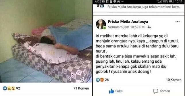 Viral Unggahan Gadis Asal Blitar yang Jual Ibu Kandung Seharga Rp 10 Ribu di Facebook, Dijual Karena Dianggap Menyusahkan!
