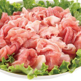 <国産>豚肉もも切り落とし