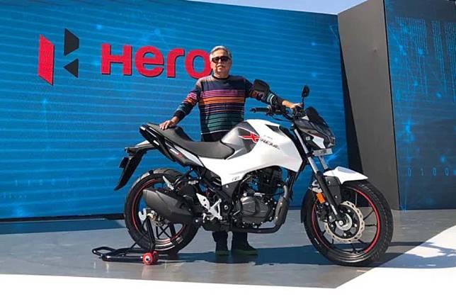 Hero Motocorp เปิดตัว Xtreme 160R พร้อมเผยราคาในเดือนมีนาคม 2563 นี้ ที่ประเทศอินเดีย