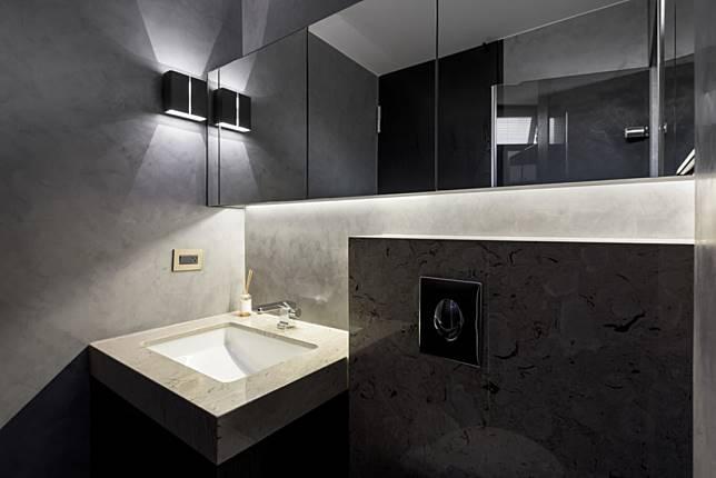 7. 冷調浴室