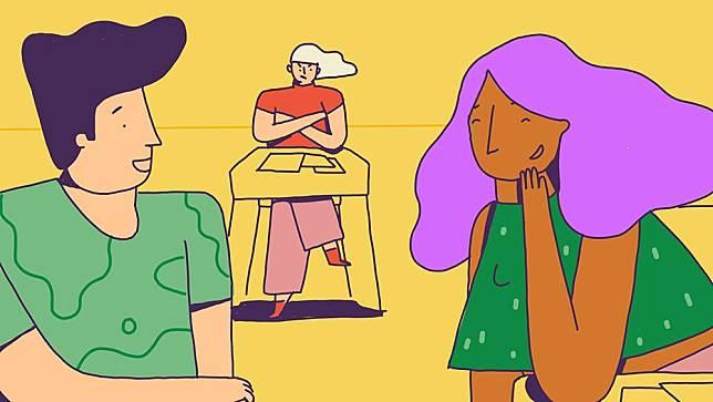 Inilah 5 Cara Menghadapi Mantan dengan Kekasih Barunya