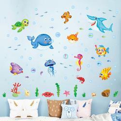 時尚壁貼 --歡樂海洋世界