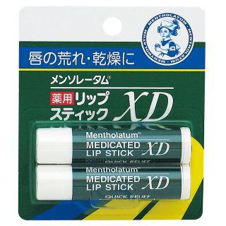 メンソレータム 薬用リップスティックXD 2本入
