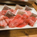 黒毛和牛の赤身盛り合わせ200g - 実際訪問したユーザーが直接撮影して投稿した歌舞伎町焼肉YAKINIKU BAR ヤキニクバル NO MEAT NO LIFE 2ndの写真のメニュー情報
