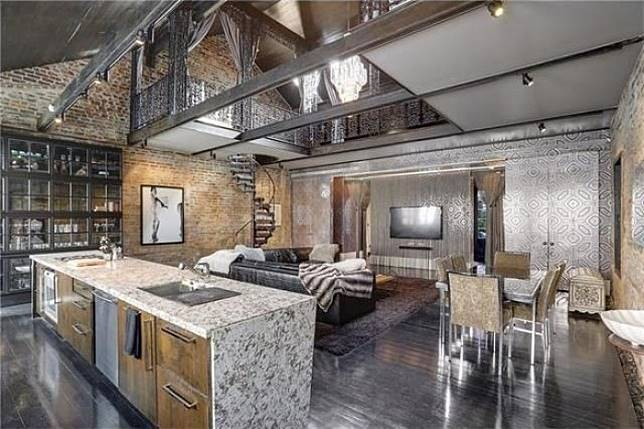 Interior mewah rumah unik yang dulunya dimiliki Lenny Kravitz (dok. rachelperkoff)