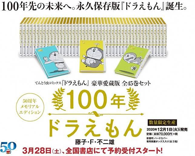 漫畫在3月28日開始預購,在2020年12月1日發售,價格是70,000円(未連稅)(約HK$5,038)。(互聯網)