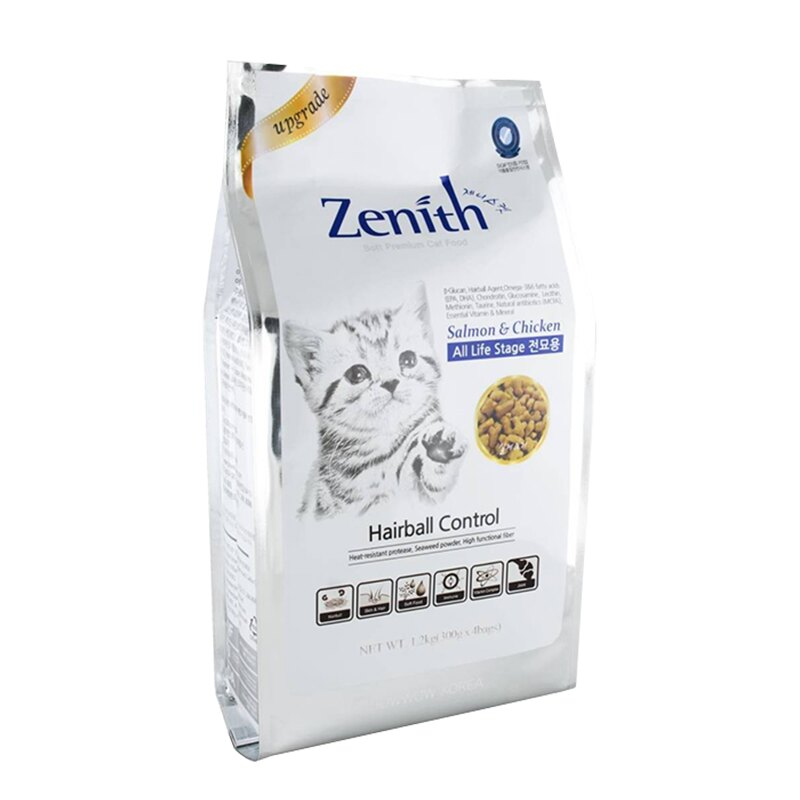 Zenith低敏軟飼料-化毛貓飼料1.2kg / 老貓 挑嘴貓