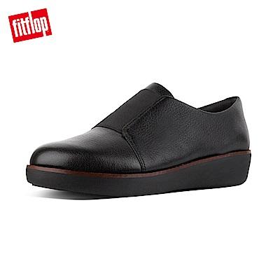 時尚簡約樂福鞋側邊鬆緊帶設計,便於穿脫防滑橡膠鞋底經APMA美國足部醫學協會認證