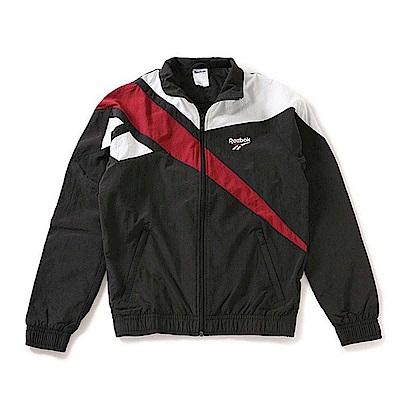 品牌: REEBOK型號: DZ6266Archive Vector特點: 立領夾克 撞色LOGO保暖 運動休閒 黑白紅