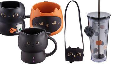 星巴克推出「萬聖節黑貓系列!」黑貓馬克杯、黑肉球冷水杯等20樣商品,上市日期貓奴們請筆記