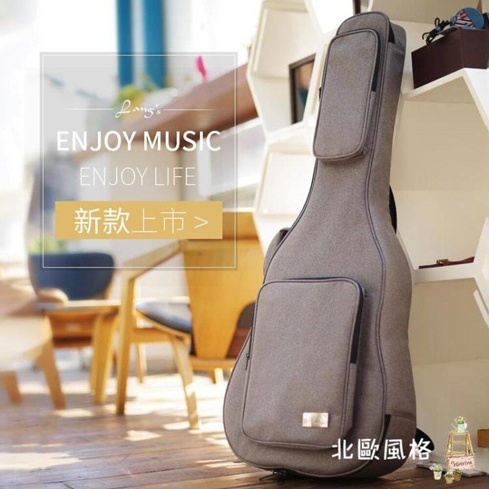 後背個性加厚琴包394041寸民謠吉他包吉它背包袋古典學生用