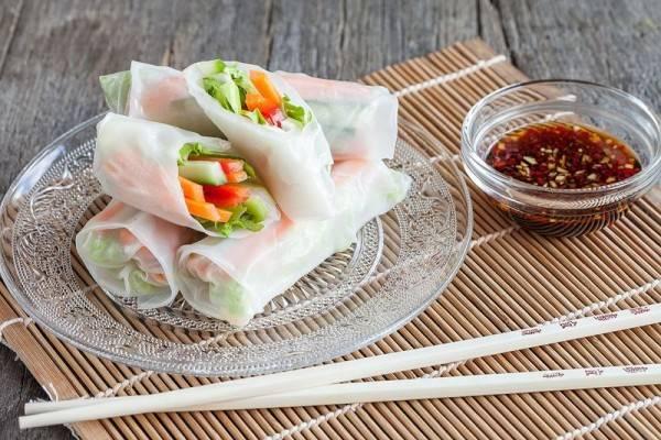 5 Olahan Unik Rice Paper Rolls, Dijamin Bikin Nafsu Makan Naik!