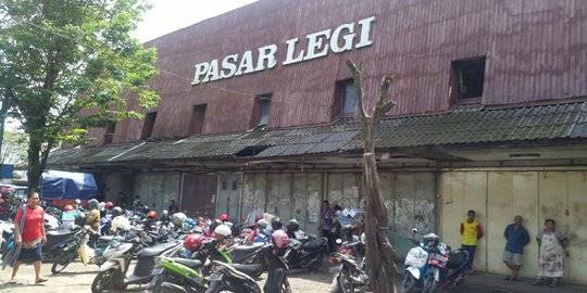 Pasar Legi. ©2019 Merdeka.com/Arie Sunaryo