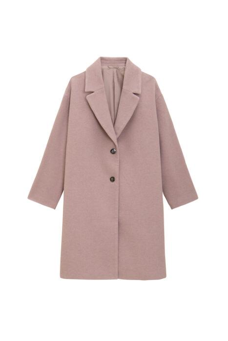 女裝羊毛混紡寬版切斯特大衣_325127_12