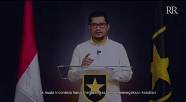 Ketum Partai Ummat Ridho Rahmadi: Anak Muda Indonesia Harus Melawan Kezaliman, Menegakkan Keadilan