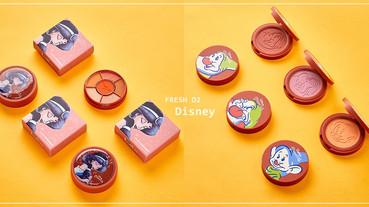 FreshO2×推出限量「迪士尼公主系列」彩妝,小矮人腮紅超萌必收!