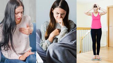 2020女性癌症Top10!8大警訊別小看,「傷口久未愈合 」、「體重莫名變輕」可能是前兆