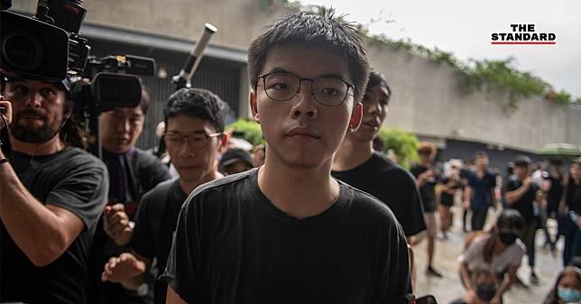 โจชัว หว่อง แกนนำเรียกร้องประชาธิปไตย ถูกควบคุมตัวในฮ่องกง