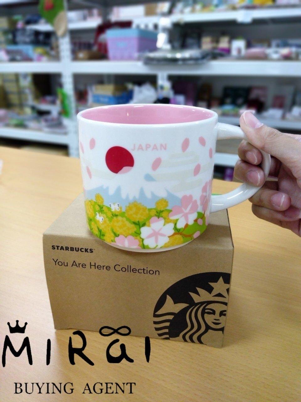 《日本現貨區!!》日本-星巴克 期間限定 櫻花富士山 馬克杯414ml