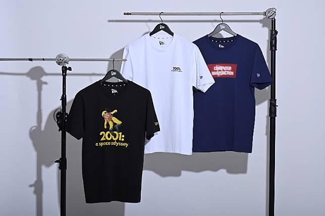 《2001太空漫遊》系列包括有4款帽子和3款服飾。(互聯網)