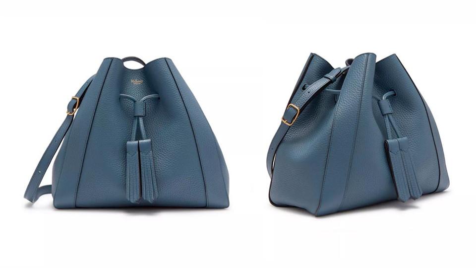 「迷霧靛藍」包包推薦:Mulberry Millie 小型托特包