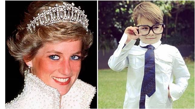 合成圖/翻攝Diana, Princess of Wales 1961-1997臉書、davidcampbell73 IG