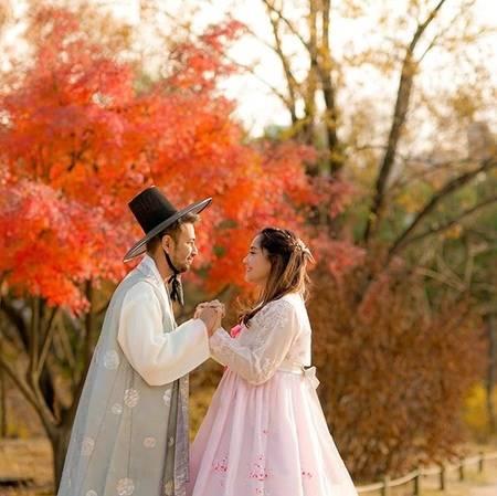 Foto Ciuman Romantis Raffi Ahmad Nagita Slavina Di Korea Kompak Pakai Hanbok