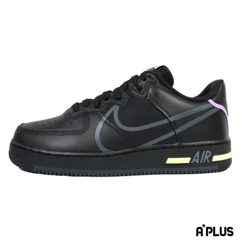 品牌: NIKE 型號: CD4366-001品名: NIKE AIR FORCE 1 REACT 男 經典 休閒鞋-CD4366001特點: 經典 復古 皮革 休閒