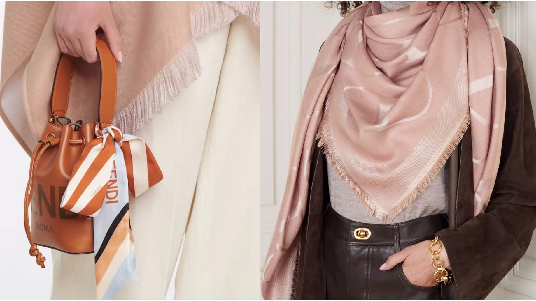 母親節實用禮物推薦!最值得投資的時髦精品絲巾綁法、搭配術公開