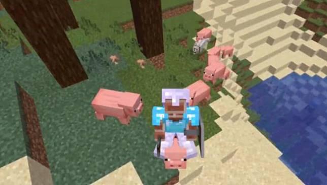 ผู้เล่นสุดแนวใช้ชีวิตในเกม Minecraft ได้ โดยไม่กดปุ่มเคลื่อนที่แม้แต่ครั้งเดียว