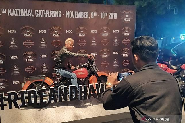 Pecinta Harley-Davidson gelar pertemuan nasional pertama di Bandung