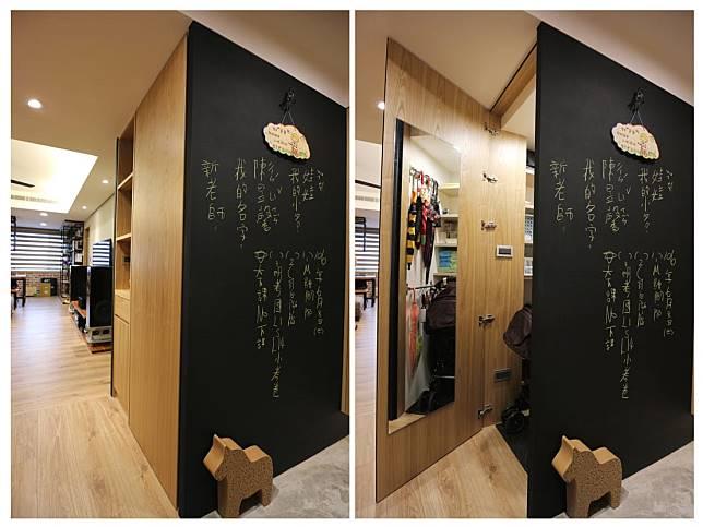 5. 黑板塗鴉牆