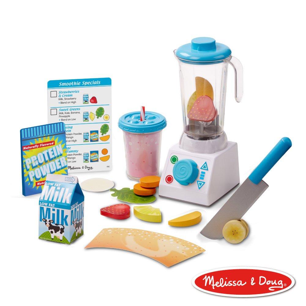 美國瑪莉莎 Melissa & Doug 玩食趣 - 活力果汁機組
