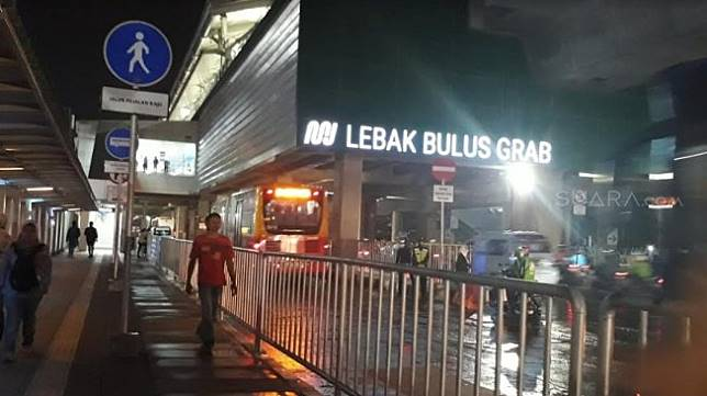 Stasiun MRT Lebak Bulus. (Suara.com/Ummi Hadyah Saleh)