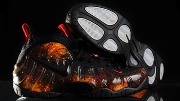 "網友創作 / Nike Air Foamposite Pro ""Walking on Mars"""