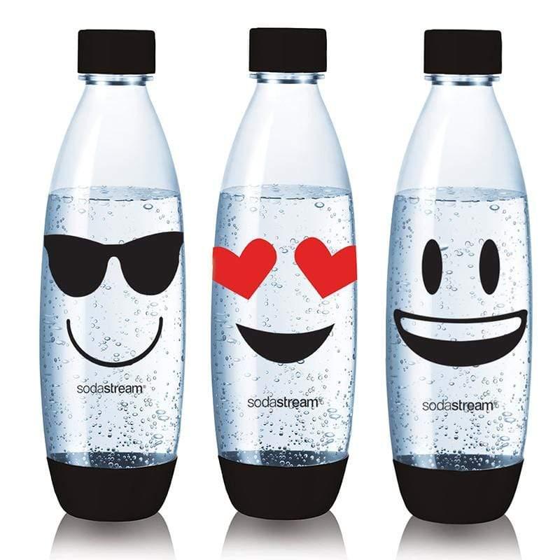 水滴水瓶1L -3入 (emoji)
