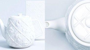 KAWS推出純白陶瓷茶壺!浮雕「XX」元素無敵時髦,全球限量1000個務必手刀搶購