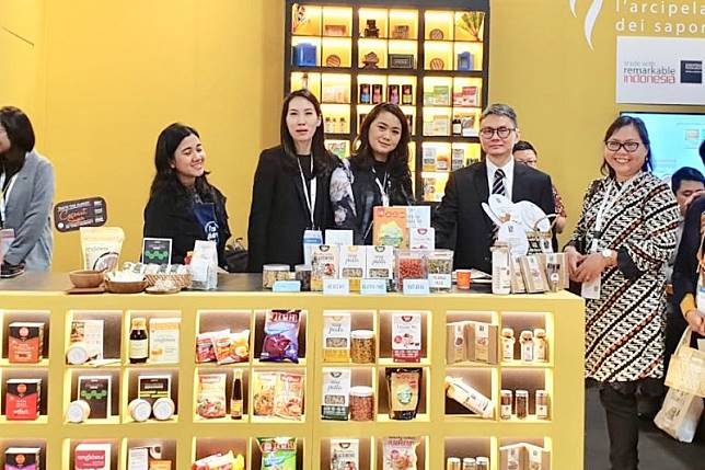 Penjualan produk makanan Indonesia di Italia capai 700 persen