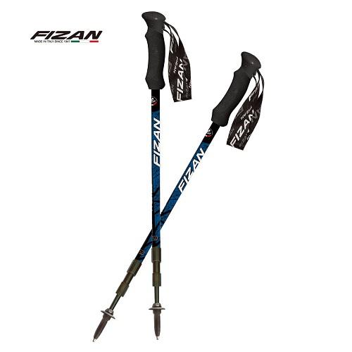 Fizan義大利18.7502 可調式避震健行登山杖特惠組-原裝、好清潔、減緩膝蓋傷害、登山旅行基本裝備