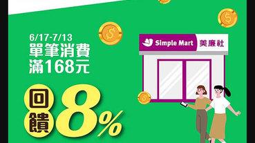 美廉社用LINE Pay Money 滿額享 8% 回饋