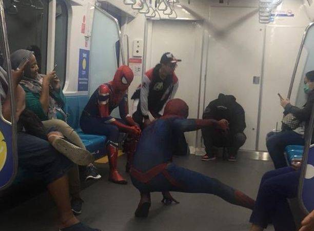 Spider-Man dalam MRT