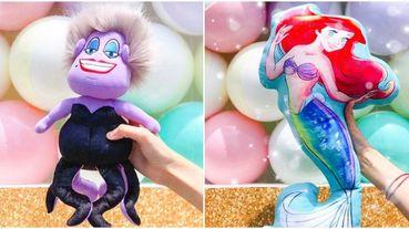 快衝台中公主的夢幻世界期間限定店!反派烏蘇拉小美人魚玩偶超想要
